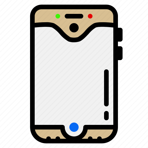Electronic, gadget, mobile, phone, smartphone icon - Download on Iconfinder