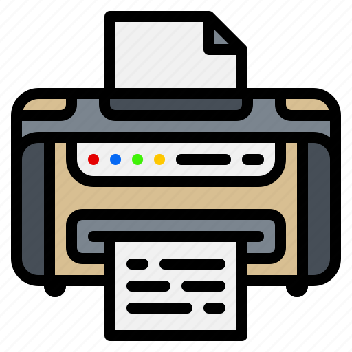 copy, electronic, gadget, laser, paper, printer icon