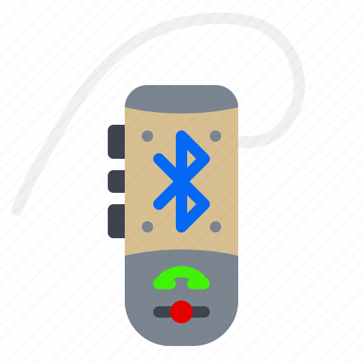 Bluetooth, electronic, gadget, handsfree, phone icon - Download on Iconfinder