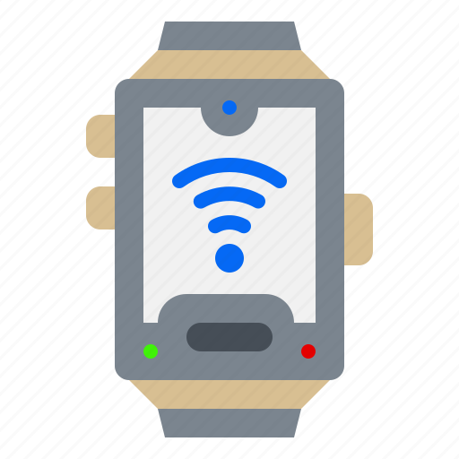 Electronic, gadget, smartwatch, watch, wifi icon - Download on Iconfinder