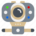 cam, camera, electronic, gadget, usb icon