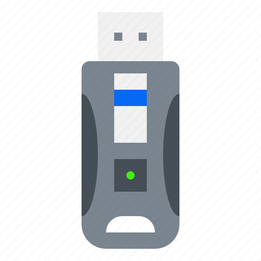 drive, electronic, flash, gadget, memory, usb icon
