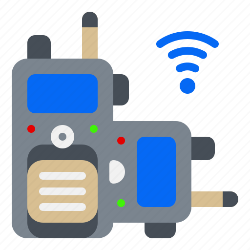 Electronic, gadget, radio, talkie, walkie, wifi icon - Download on Iconfinder