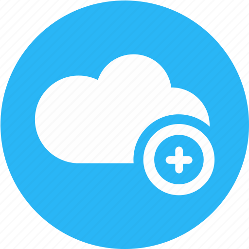 add, cloud, cloud computing, guardar, positive, save, thinking, weather icon