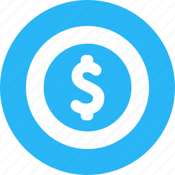 amount, credit, currency, dollar, fund, paid, pay icon