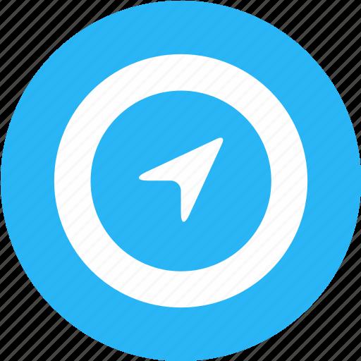 angle, direction, navigate, navigation, position, rotate, rotation icon