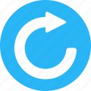 angle, previous, refresh, repeat, rotate, rotation, sync icon