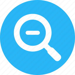 focus, magnifier, marketing, negative, optimization, search, seo icon