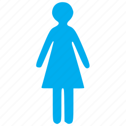 female, girl, human, person, user, users, woman icon