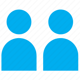 group, human, people, person, profile, user, users icon