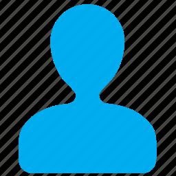 account, human, man, person, profile, user, users icon