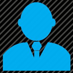 businessman, human, male, man, person, profile, user icon