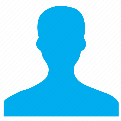 human, male, man, person, profile, user, users icon