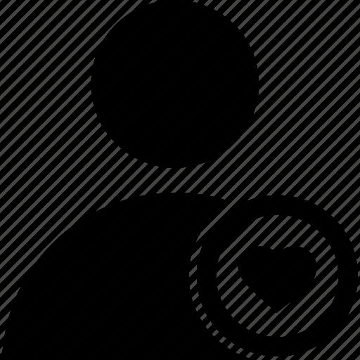 circle, favorite, user icon
