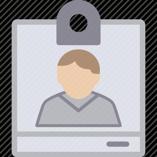 card, id, id card, male, man, person, profile, user icon