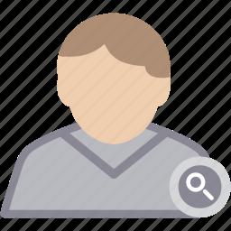 find, male, man, person, profile, user icon