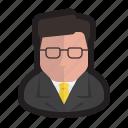avatar, genius, lawyer, leader, politician, professor, speaker
