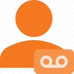 action, people, record, sound, user icon