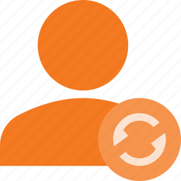 action, people, refresh, user icon