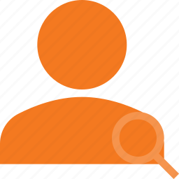 action, people, search, user icon