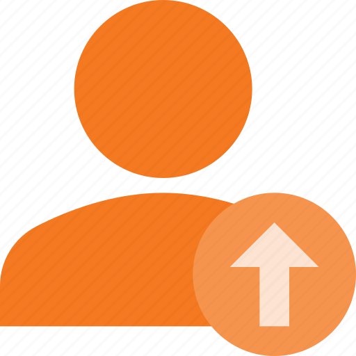 action, info, people, upload, user icon