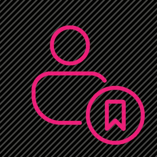 add bookmark, bookmark, favorite user, flag user, mark, ribbon, save icon