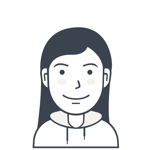 avatar, casual, female, girl, person, user icon