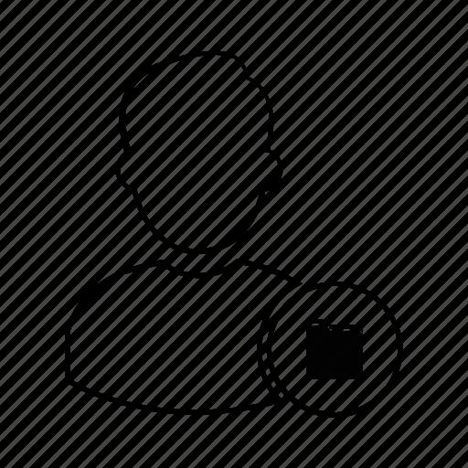 admin, folder, manager, person, profile, user icon