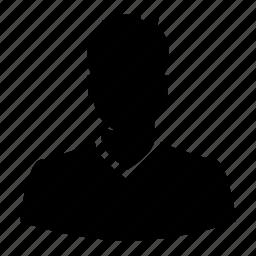 avatar, boy, haircut, male, man, silhouette, user icon