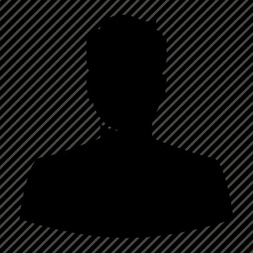 avatar, haircut, head, male, man, silhouette, user icon