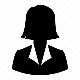 avatar, businesswoman, mother, silhouette, user, wife, woman icon