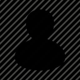 account, avatar, man, person, user, usericon icon