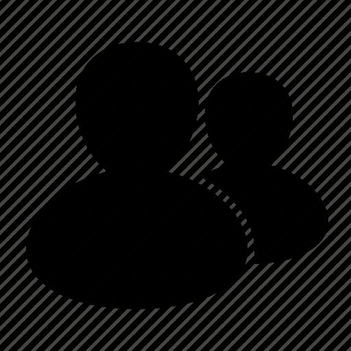 account, avatar, copy, couple, group, team, user icon