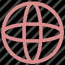 earth, globe, internet, map, world