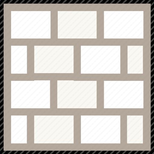blocks, bricks, construction work, under construction, wall icon