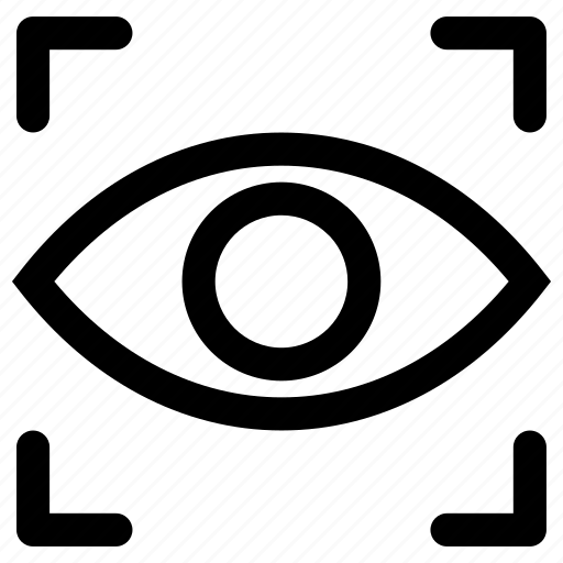 focus, monitoring, recording, spy, viewfinder icon