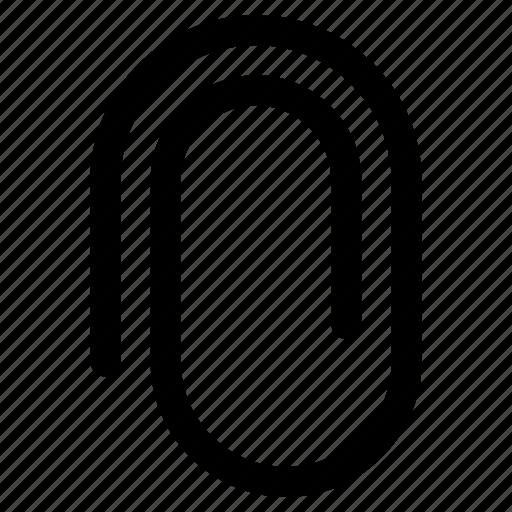 attach sign, attachment symbol, fastener clip, file attachment symbol, paperclip icon