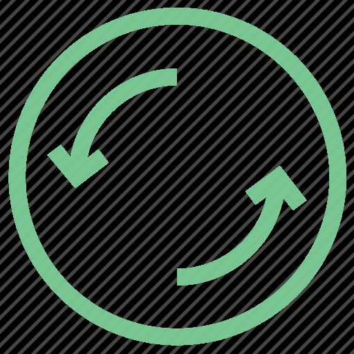 arrows, refresh, reload arrows, reloading, rotating arrows icon