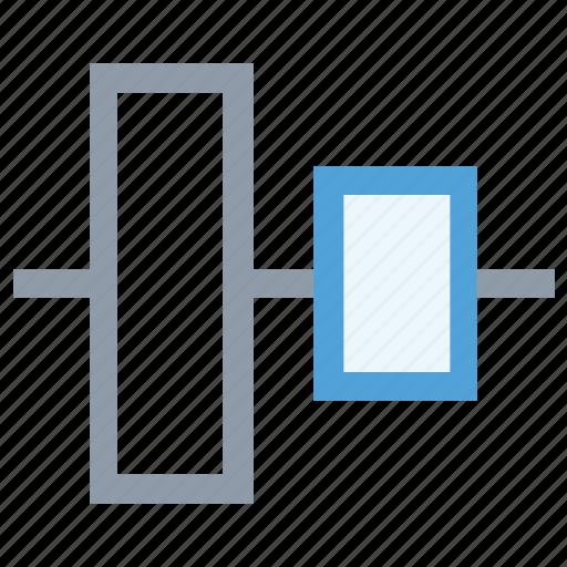 align, align tool, left alignment tool, position align icon