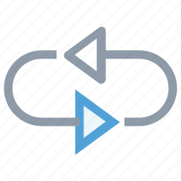 arrows, process, refresh, rotate, rotate sign icon