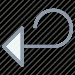 direction, down, redo arrow, redo left arrow, right down arrow icon