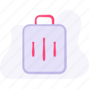 flight, journey, luggage, suitcase, travel, trip icon