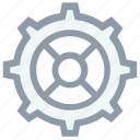 cog, cog wheel, gear, setting, wheel icon