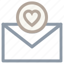 correspondence, love, love inspiration, love letter, romantic feelings icon