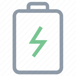 battery, battery level, battery status, charged, energy battery icon