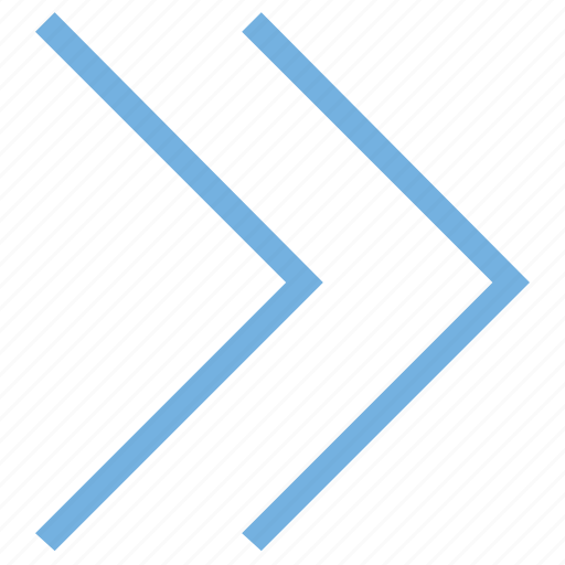 forward, forward arrow, next, play, right icon