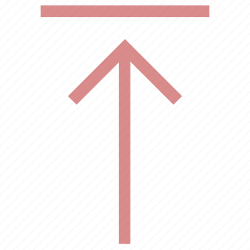 Black up arrow