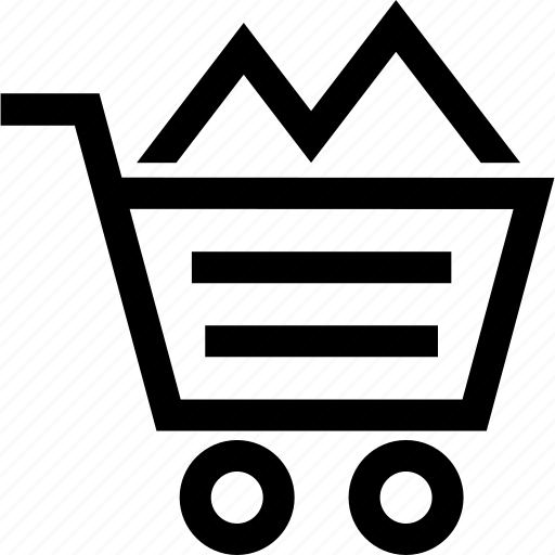 cart, filled, full, shopping icon