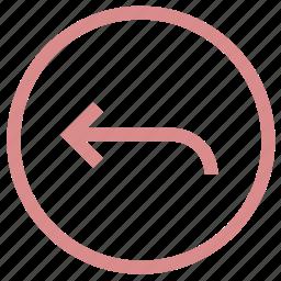 arrow, direction, left, left arrow, left sign icon