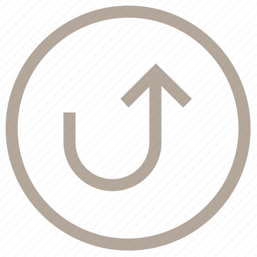 arrow, redo up arrow, up arrow, upload button, uploading icon